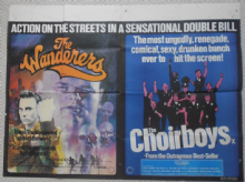 Choirboys/Wanderers, Original combo UK Quad Poster, '79